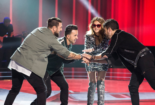 "The Premiere of ""The Voice"" on Antena 3 Sweeps Ratings with Nearly 4 Million Viewers and a 25% Share"