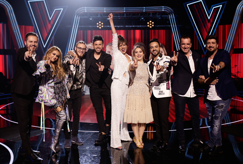 """The Voice"" Semifinals Led Among the Target Audience with a 17.2% Share"